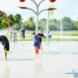 Six Nations splash pad a splashing success for local children