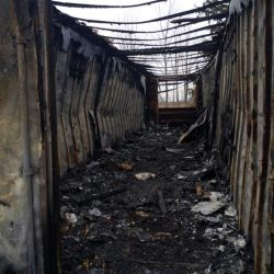 Youth charged in 3 arson fires:  Kanonstahton, private business and home storage building