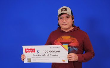 Randolph Miller is $100,000 richer thanks to a lottery win. (Submitted photo)
