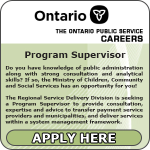Ontario Public Service Careers - Program Supervisor