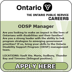 Ontario Public Service Jobs ODSP Manager