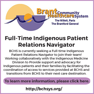 Brant Community Healthcare System Full-Time Indigenous Patient Relations Navigator