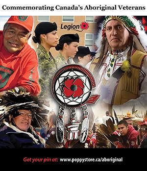 Royal Canadian Legion Aboriginal Veterans Pin