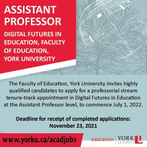 York University Assistant Professor